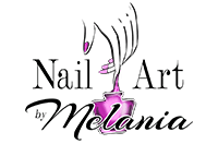 Nail Art By Melania Logo Design